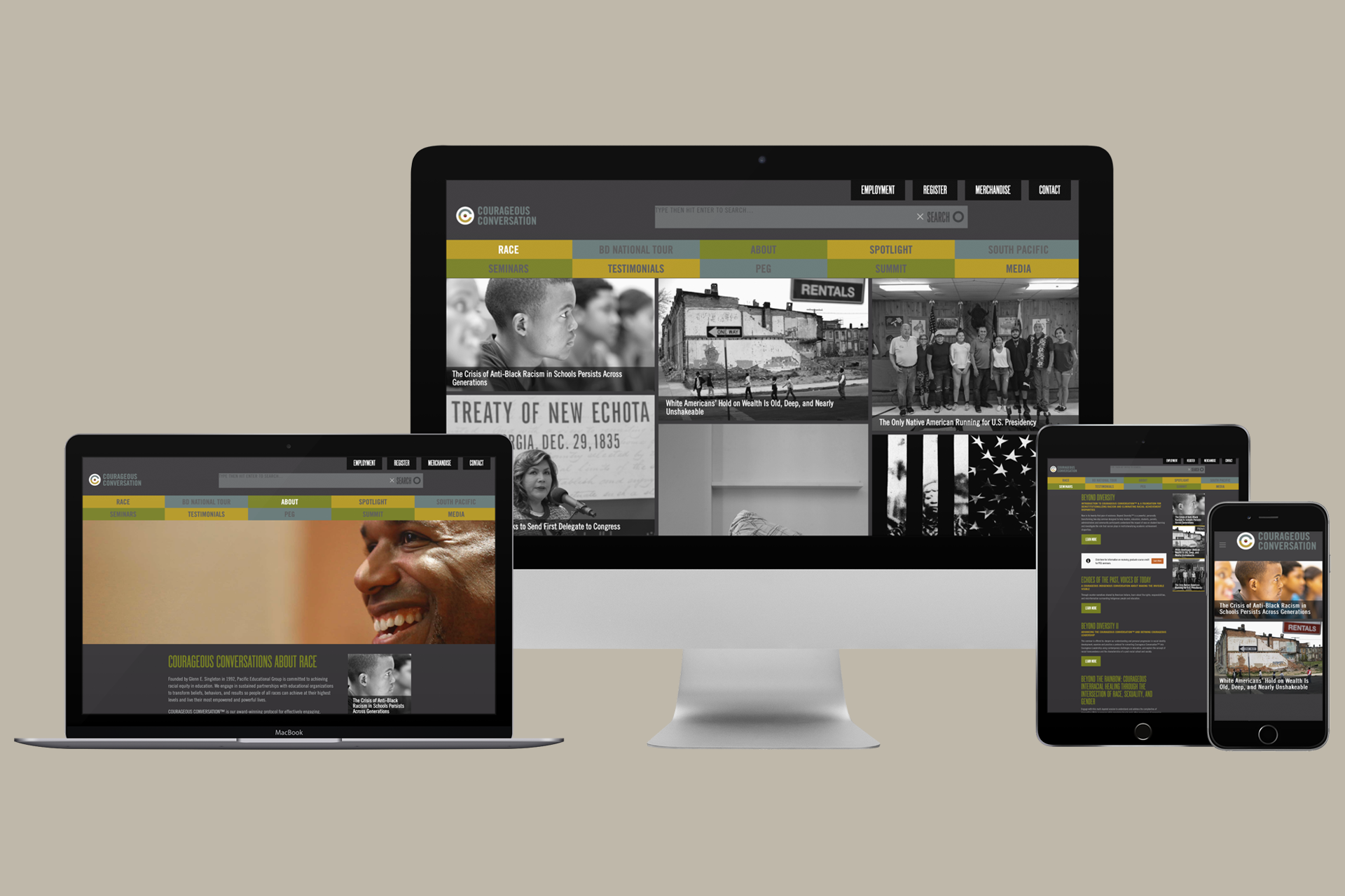 Courageous Conversation - website
