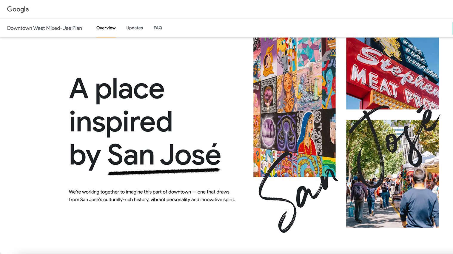 Lessons From Google's Website For Its New Downtown San Jose Development